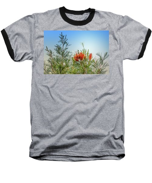 Grevillea With Moon Baseball T-Shirt