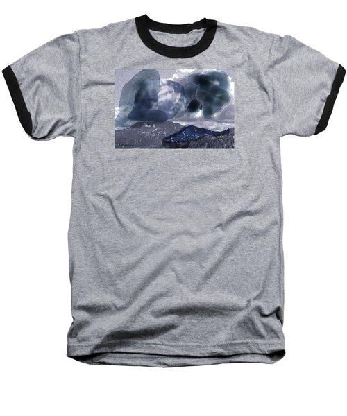 Grey Clouds Baseball T-Shirt