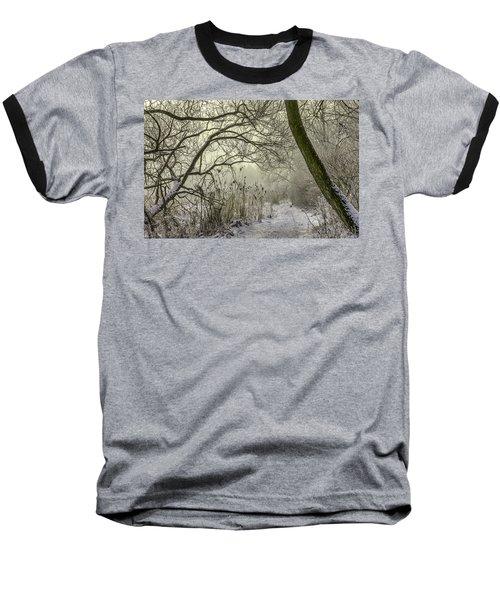 Grey Day #h1 Baseball T-Shirt