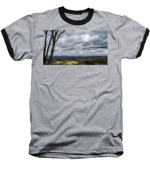 Grey Skies Baseball T-Shirt