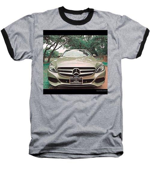 #grey #sky And A #silver Grey #car Baseball T-Shirt