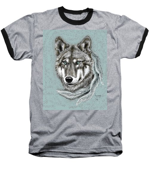 Grey Wolf Baseball T-Shirt