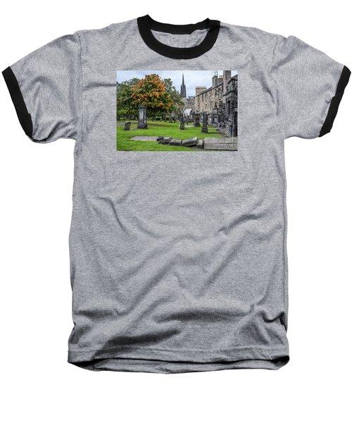 Greyfriars Kirkyard 1562  Baseball T-Shirt