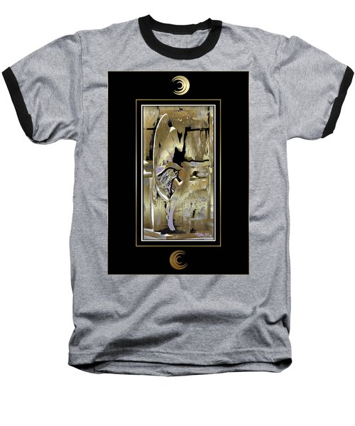 Grief Angel - Black Border Baseball T-Shirt