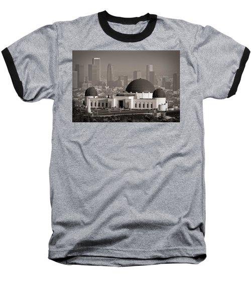 Griffith Observatory Baseball T-Shirt