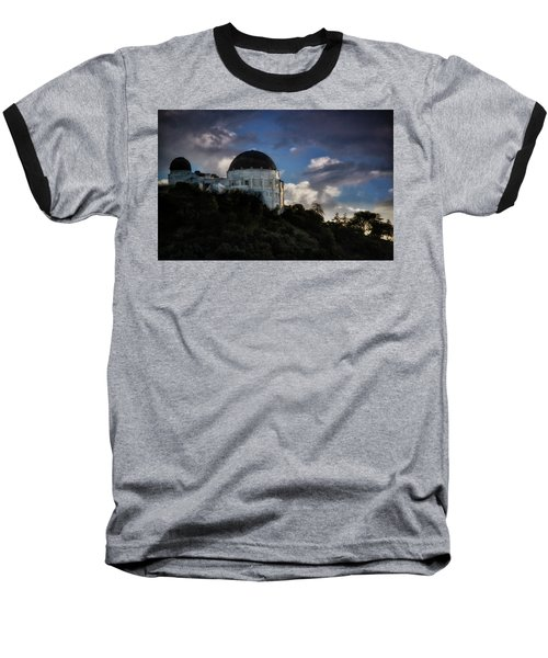 Baseball T-Shirt featuring the photograph Griffith Observatory by Joseph Hollingsworth