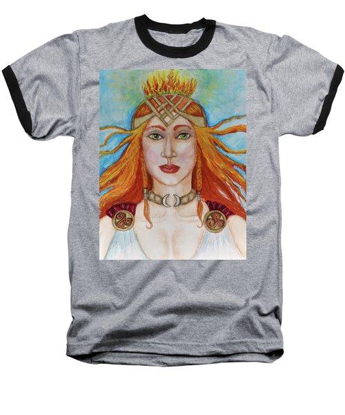 Brigidd Of The Sacred Flame Baseball T-Shirt