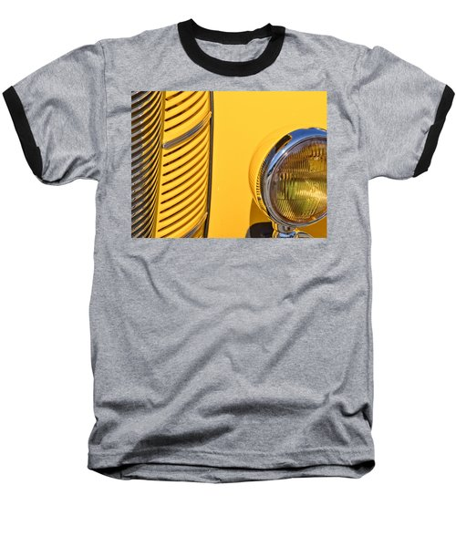 Grilled Chrome To Yellow Baseball T-Shirt