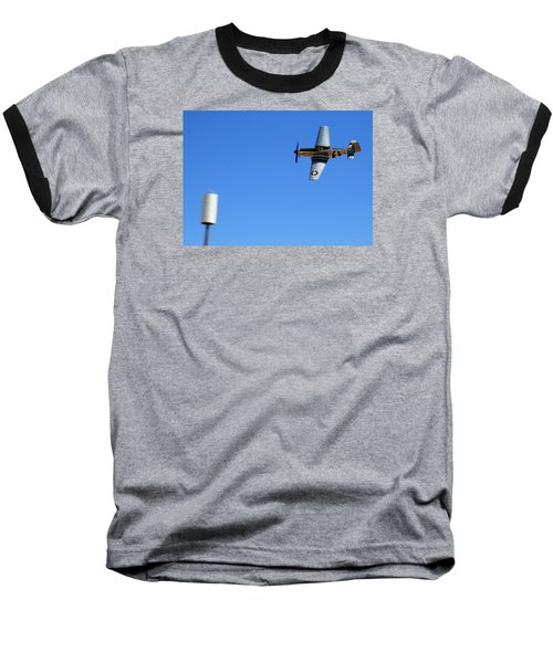 Grim Reaper.  P51d.  Not Just Your Father's Show Plane Baseball T-Shirt