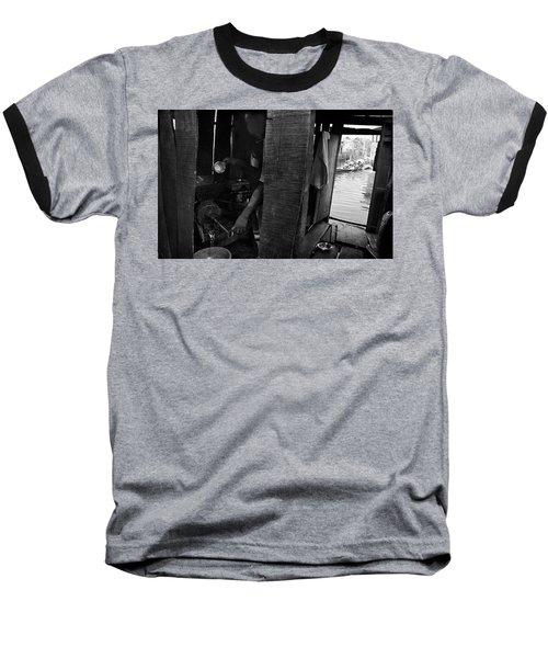 A Lurking Pepper-grinder Baseball T-Shirt