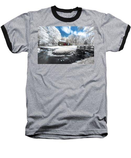 Grist Mill In Halespectrum Baseball T-Shirt