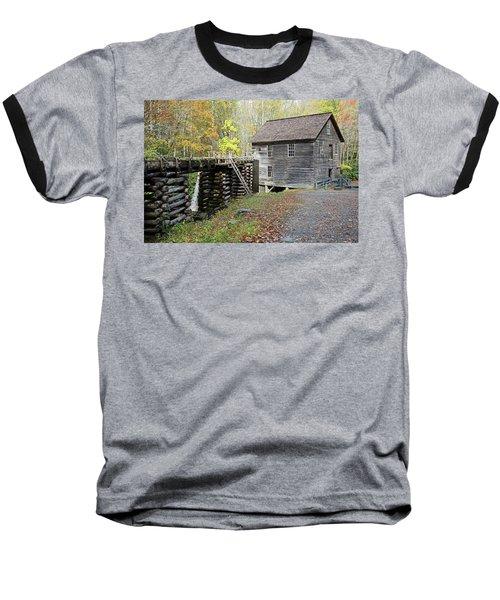 Grist Mill Baseball T-Shirt by Lamarre Labadie