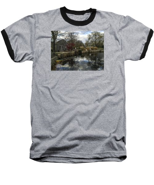 Grist Mill Sandwich Massachusetts Baseball T-Shirt