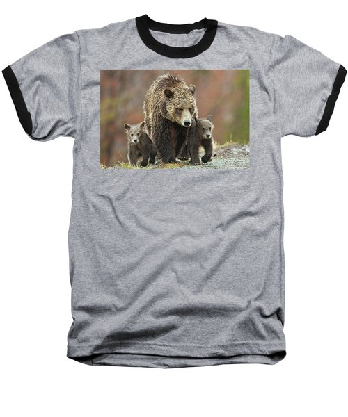 Grizzly Family Baseball T-Shirt