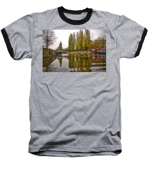 Groningen Canal Baseball T-Shirt