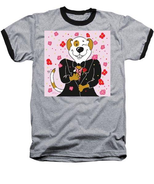 Groom Dog Baseball T-Shirt
