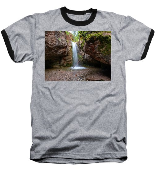 Grotto Falls Baseball T-Shirt