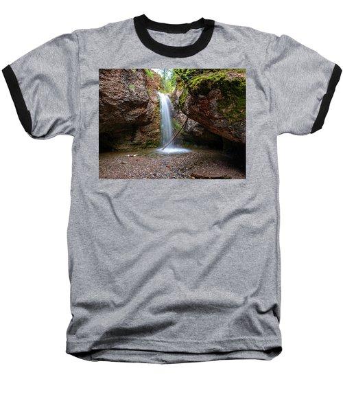 Grotto Falls Baseball T-Shirt