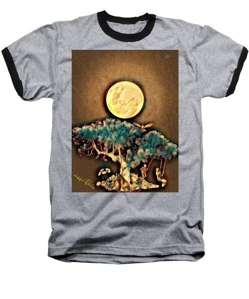 Grounding Baseball T-Shirt by Vennie Kocsis