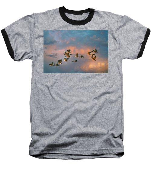 Group Flight Baseball T-Shirt