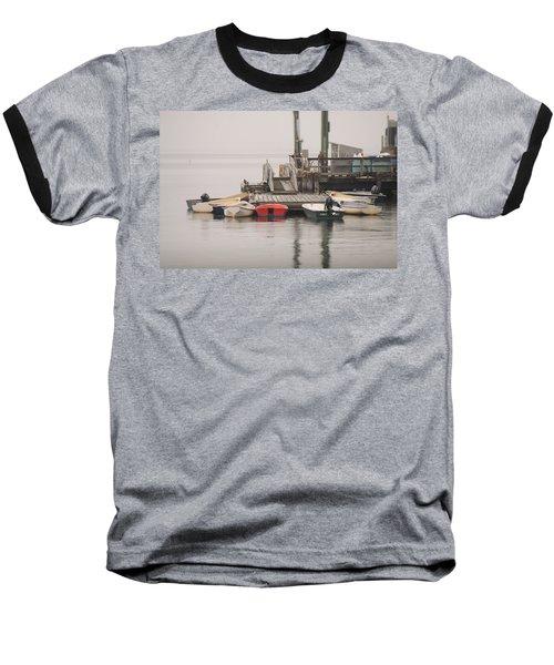 Group Meeting Baseball T-Shirt by Jewels Blake Hamrick