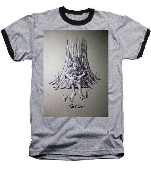 Grow Baseball T-Shirt