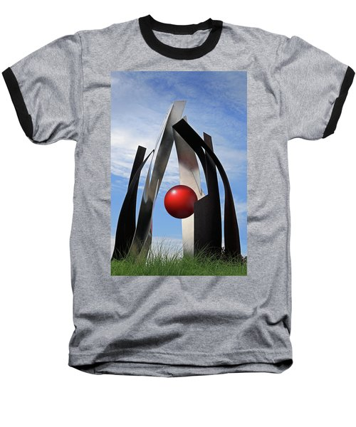 Baseball T-Shirt featuring the photograph Growing Sculpture by Christopher McKenzie