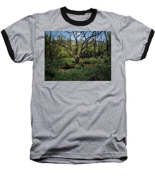 Growning From The Marsh Baseball T-Shirt