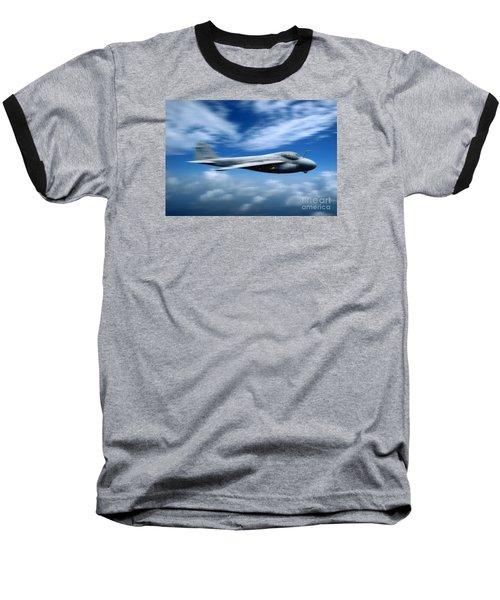 Flight Of The Intruder, Grumman A-6 Baseball T-Shirt by Wernher Krutein