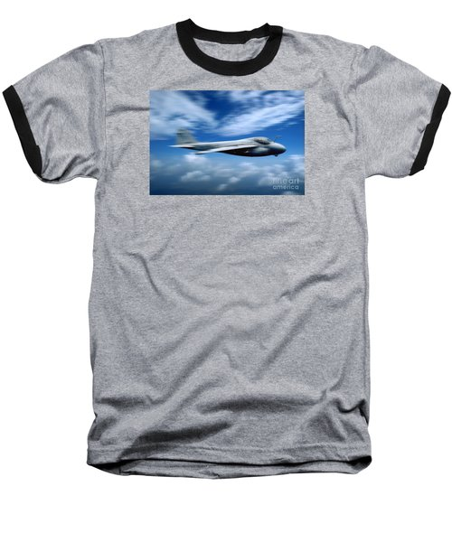 Flight Of The Intruder, Grumman A-6 Baseball T-Shirt