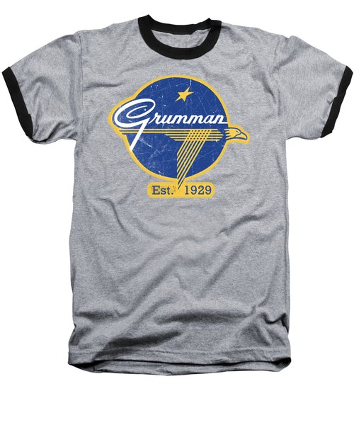 Grumman Est 1929 Distressed Baseball T-Shirt