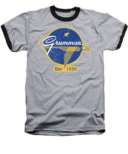 Grumman Est 1929 Distressed Baseball T-Shirt