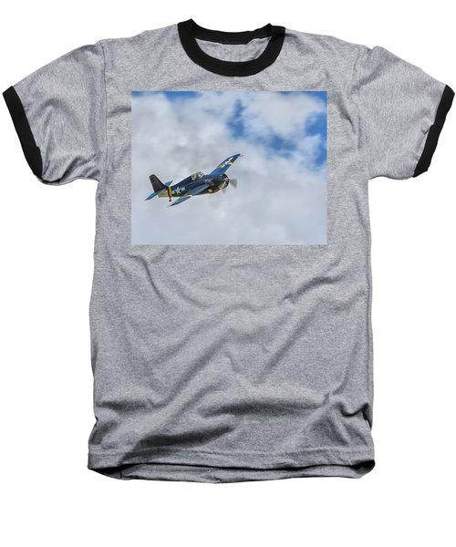 Grumman F4f Wildcat Baseball T-Shirt