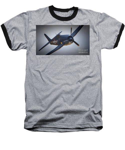 Grumman F6f Hellcat K-29 Baseball T-Shirt