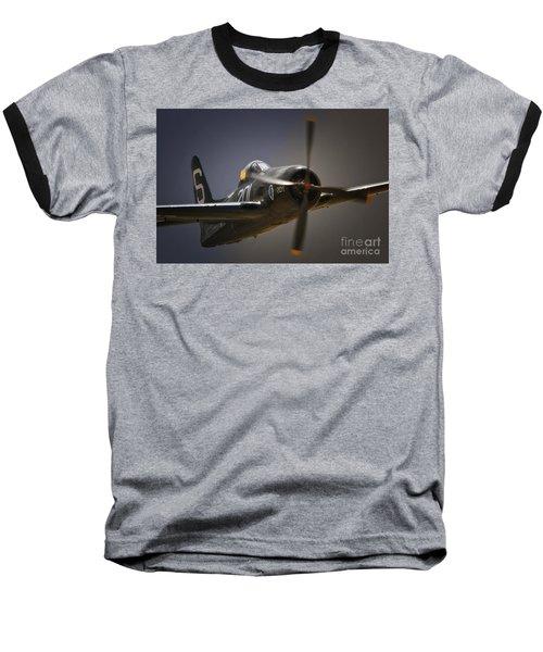 Grumman F8f Bearcat No. 201 Baseball T-Shirt