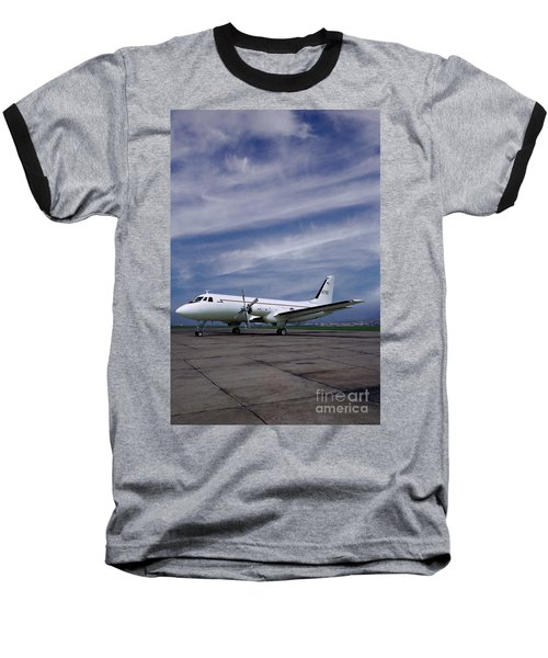 Grumman G-159 Gulfstream Patiently Waits, N719g Baseball T-Shirt