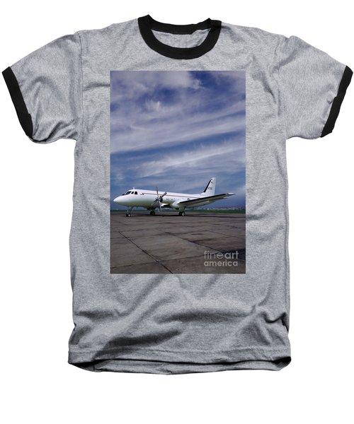 Grumman G-159 Gulfstream Patiently Waits, N719g Baseball T-Shirt