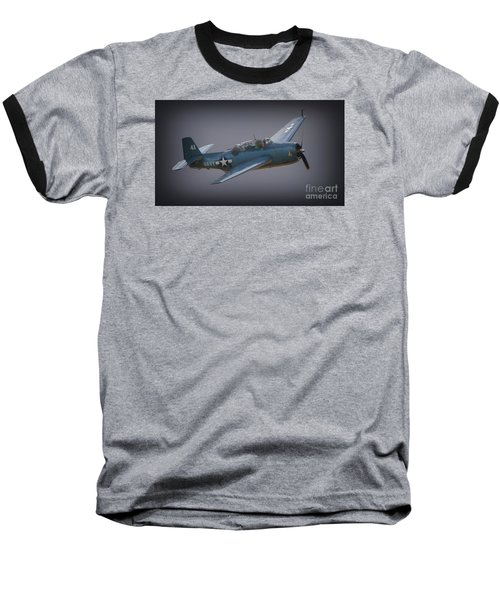 Grumman Tbf Avenger No.41 Bluegray Baseball T-Shirt