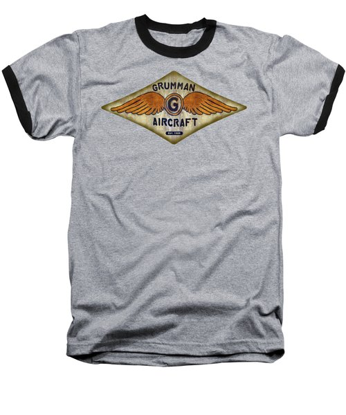 Grumman Wings Diamond Baseball T-Shirt