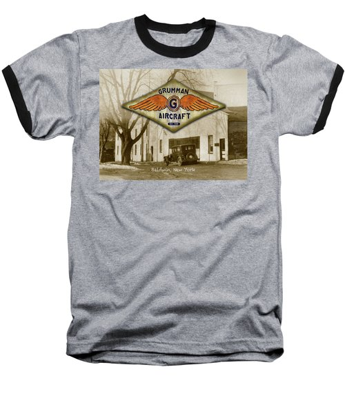 Grumman Wings Baseball T-Shirt