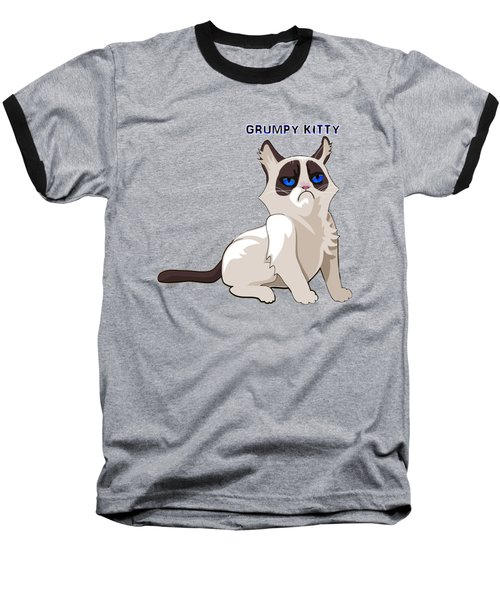 Grumpy Cat Baseball T-Shirt