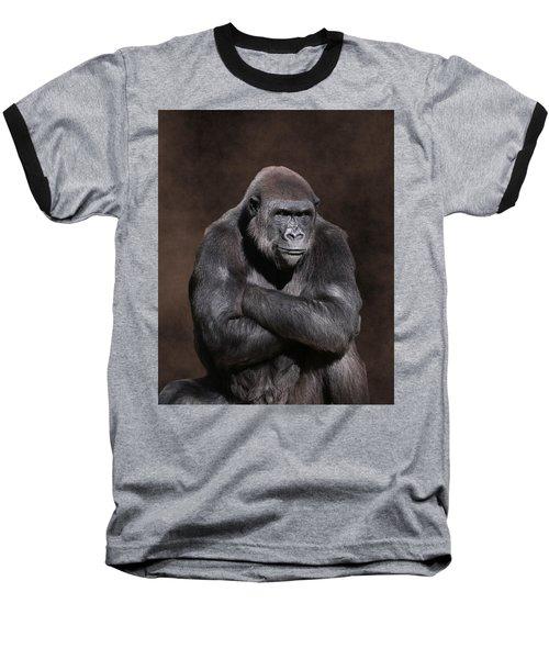 Grumpy Gorilla Baseball T-Shirt