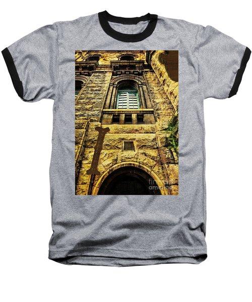 Grungy Melbourne Australia Alphabet Series Letter I Royal Melbou Baseball T-Shirt