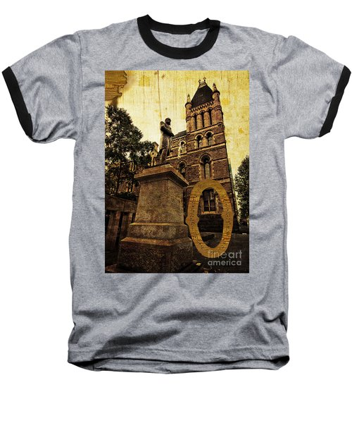Grungy Melbourne Australia Alphabet Series Letter O Francis Ormo Baseball T-Shirt
