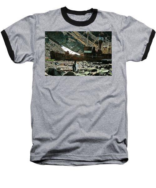 Grytviken Sentinel Baseball T-Shirt