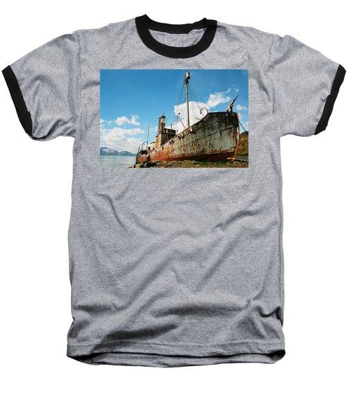Grytviken Whaler Baseball T-Shirt