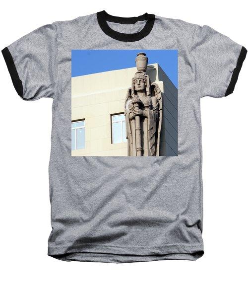 Guardian Angel And Blue Baseball T-Shirt