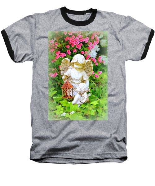 Guardian Angel Baseball T-Shirt