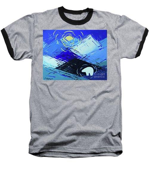 Guardian Bear Winter Baseball T-Shirt