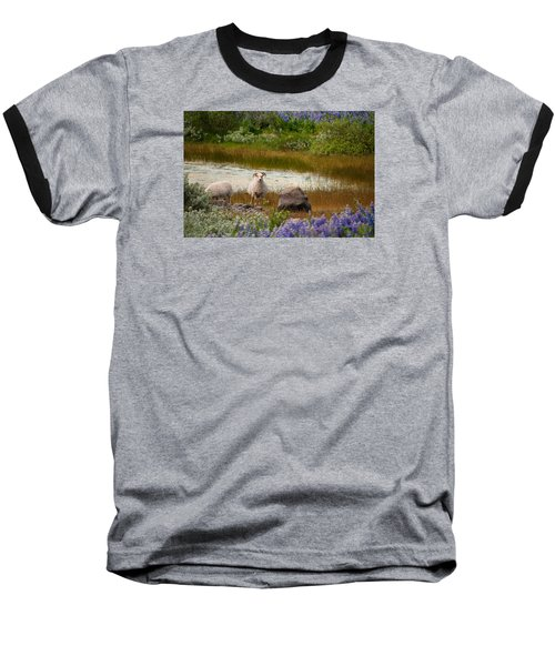 Guardian Baseball T-Shirt by William Beuther